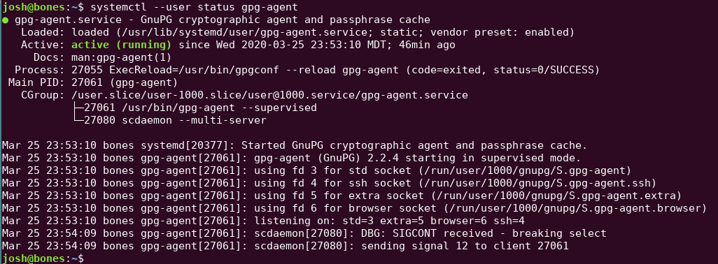 Configuring gpg-agent for SSH Authentication on Ubuntu